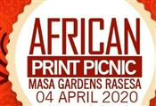 AFRICAN PRINT PICNIC